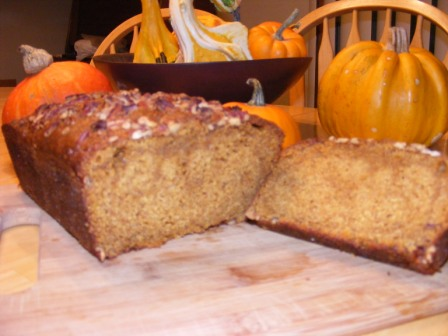 Pumpkin Gingerbread Crumb